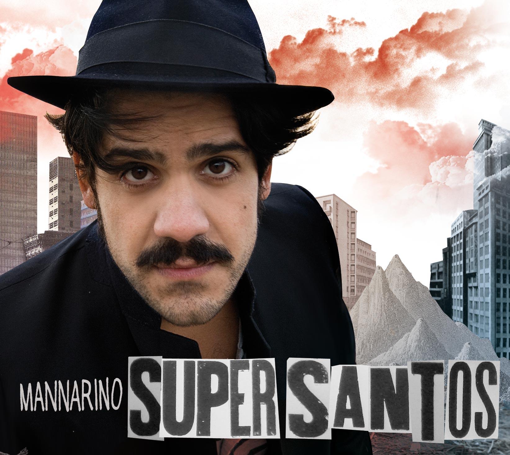 Alessandro Mannarino in concerto con 'Supersantos live'