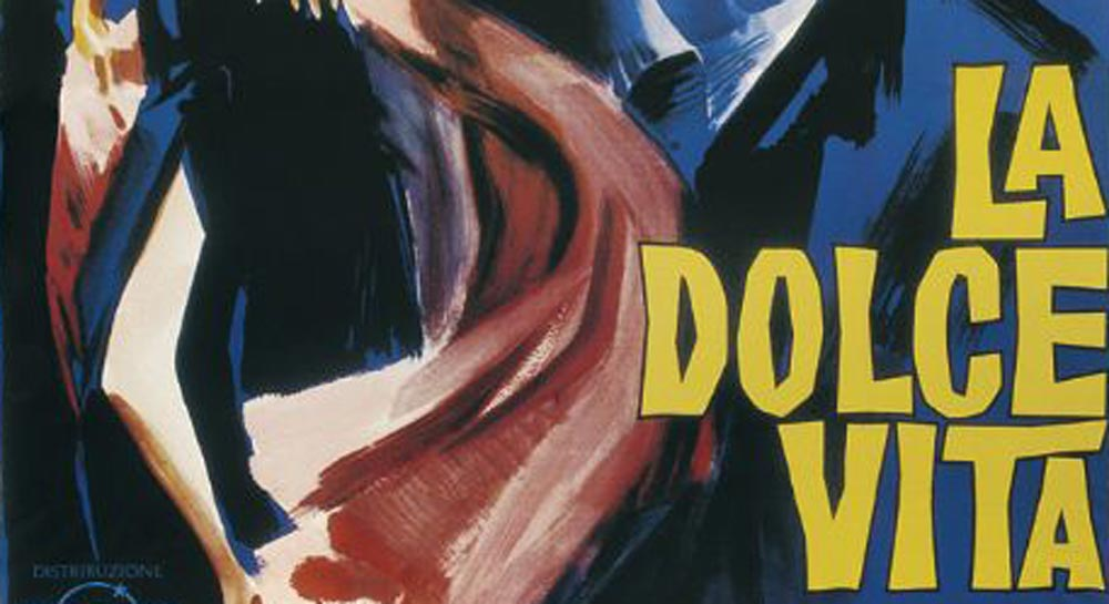 Proiezione dei grandi capolavori del cinema, 'La dolce vita'