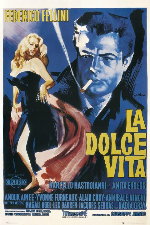 Proiezione dei grandi capolavori del cinema, La dolce vita