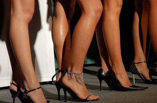 gambe moda