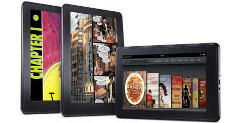 book kindle fire
