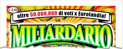 Vinto un milione in Abruzzo con gratta e vinci