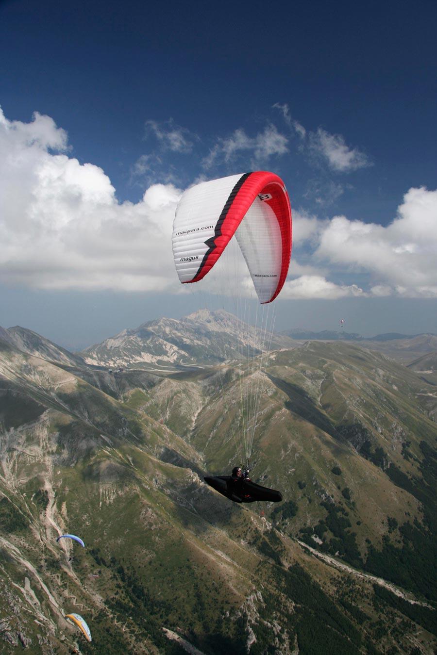 Appuntamenti di Volo Libero in Lombardia, Friuli e Lazio