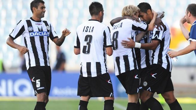 Favola Udinese, volano Palermo e Cagliari