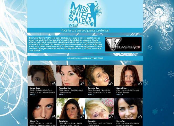 40 ragazze in competizione per Miss Winter Salento web