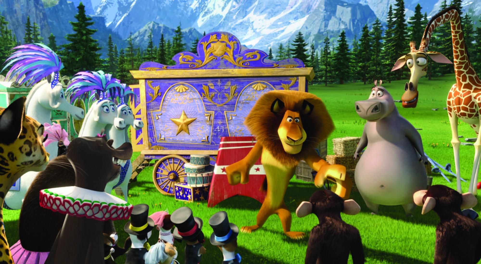 Dal 22 agosto al cinema Madagascar 3, ricercati in Europa
