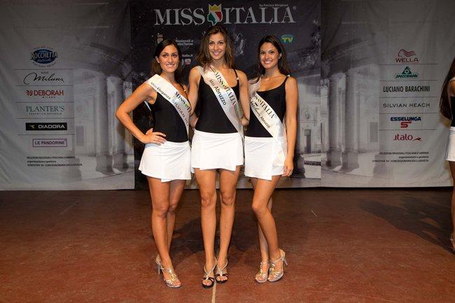 Miss Italia: le finaliste dell'Abruzzo e delle Marche