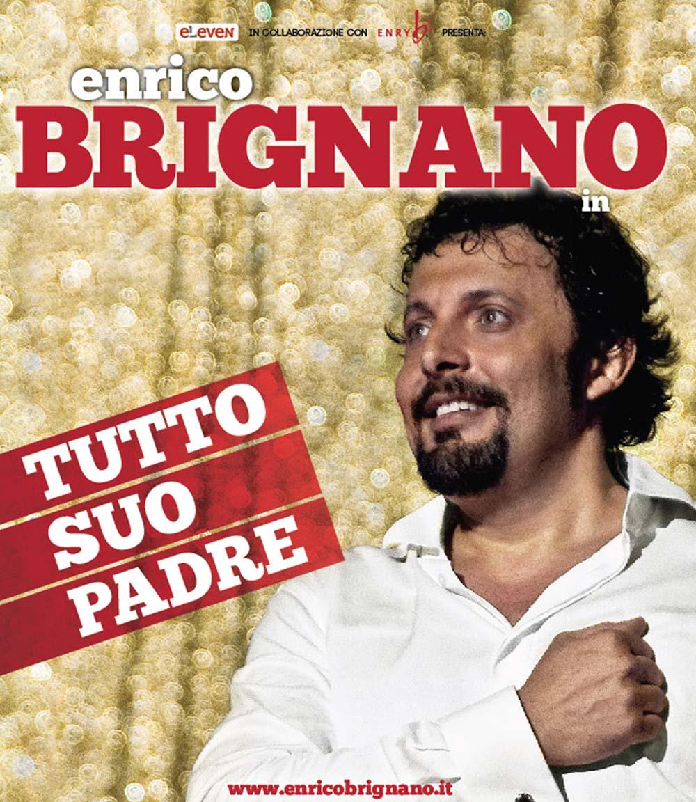Nuove date per Enrico Brignano