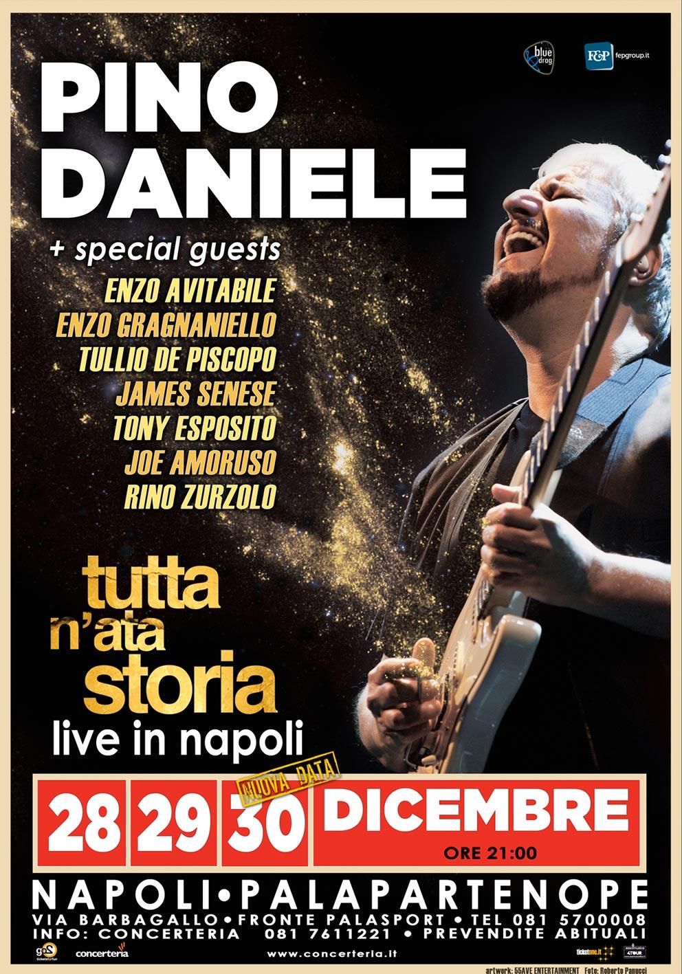 Manifesto_TUTTA N'ATA STORIA_Pino Daniele