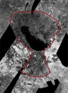 Un antico oceano al polo sud di Titano