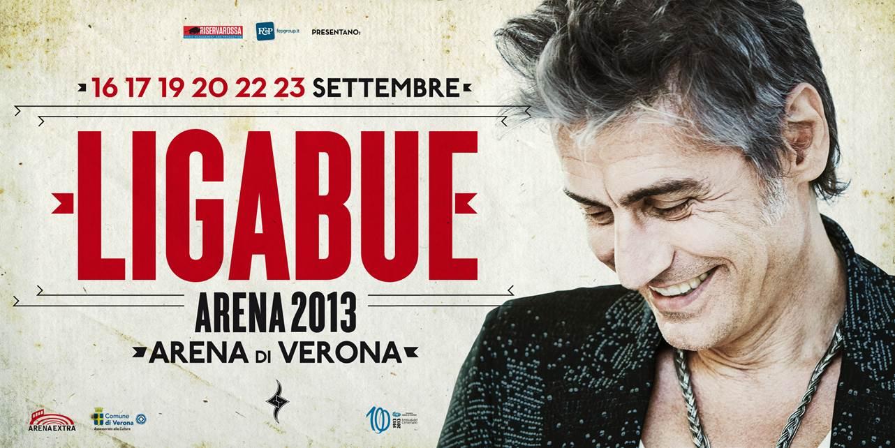 Ligabue_Arena 2013_Poster