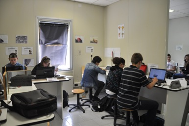 Foto 12  Scuola di fisica II settimana – Preparazione delle relazioni