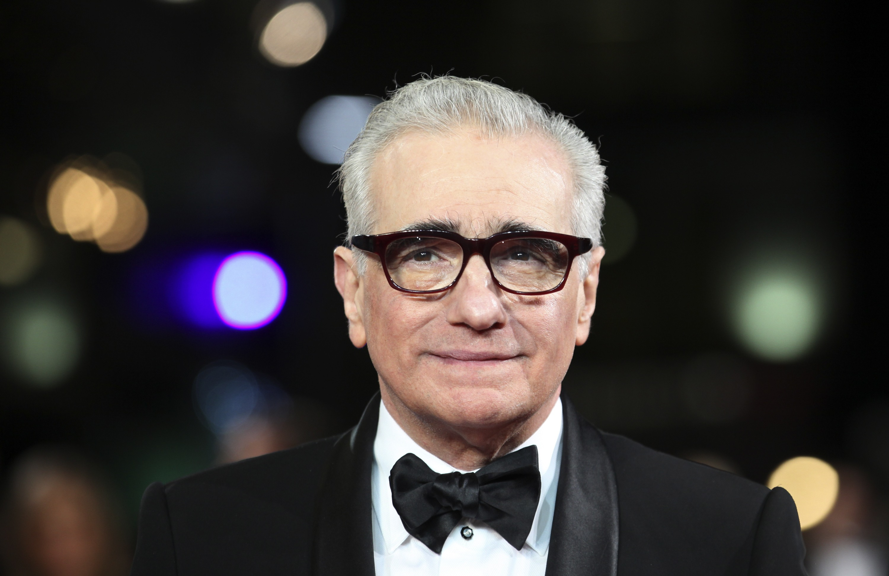 Director Martin Scorsese arrives at The Royal Premiere of his film Hugo at the Odeon Leicester Square cinema in London