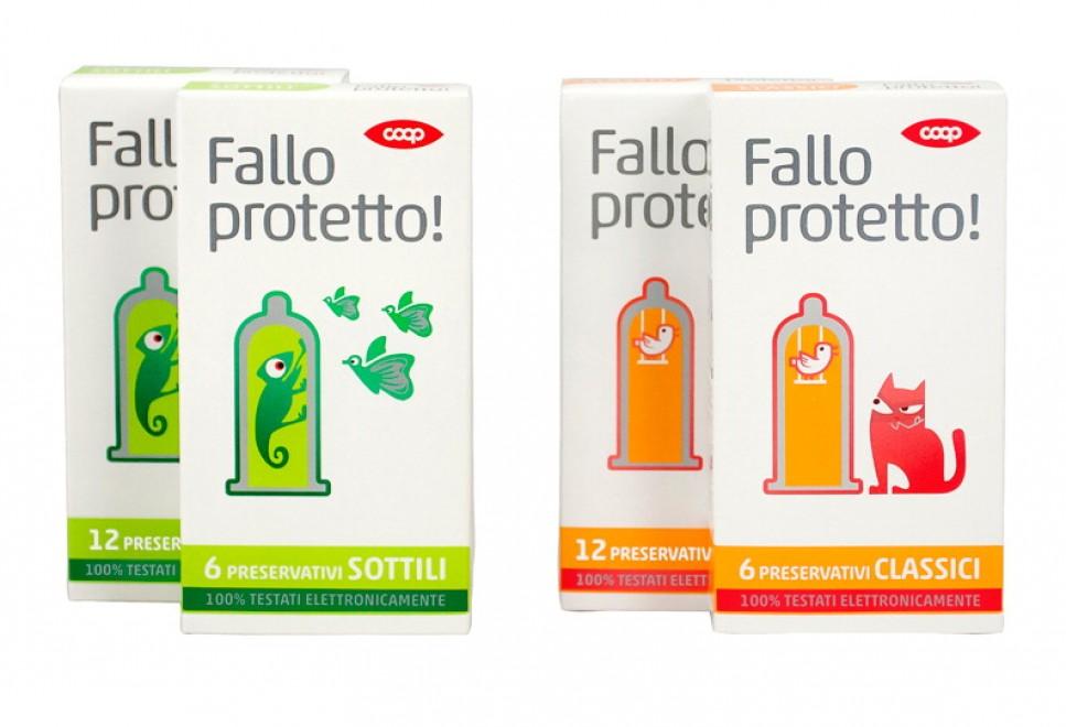 """""""Falloprotetto"""": il preservativo a marchio COOP"""