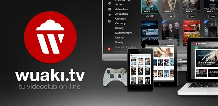 Wuaki.tv disponibile in Italia e aumenta l'offerta di video on demand