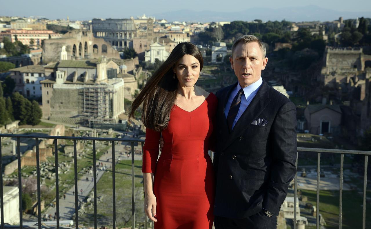 Daniel Craig in Campidoglio