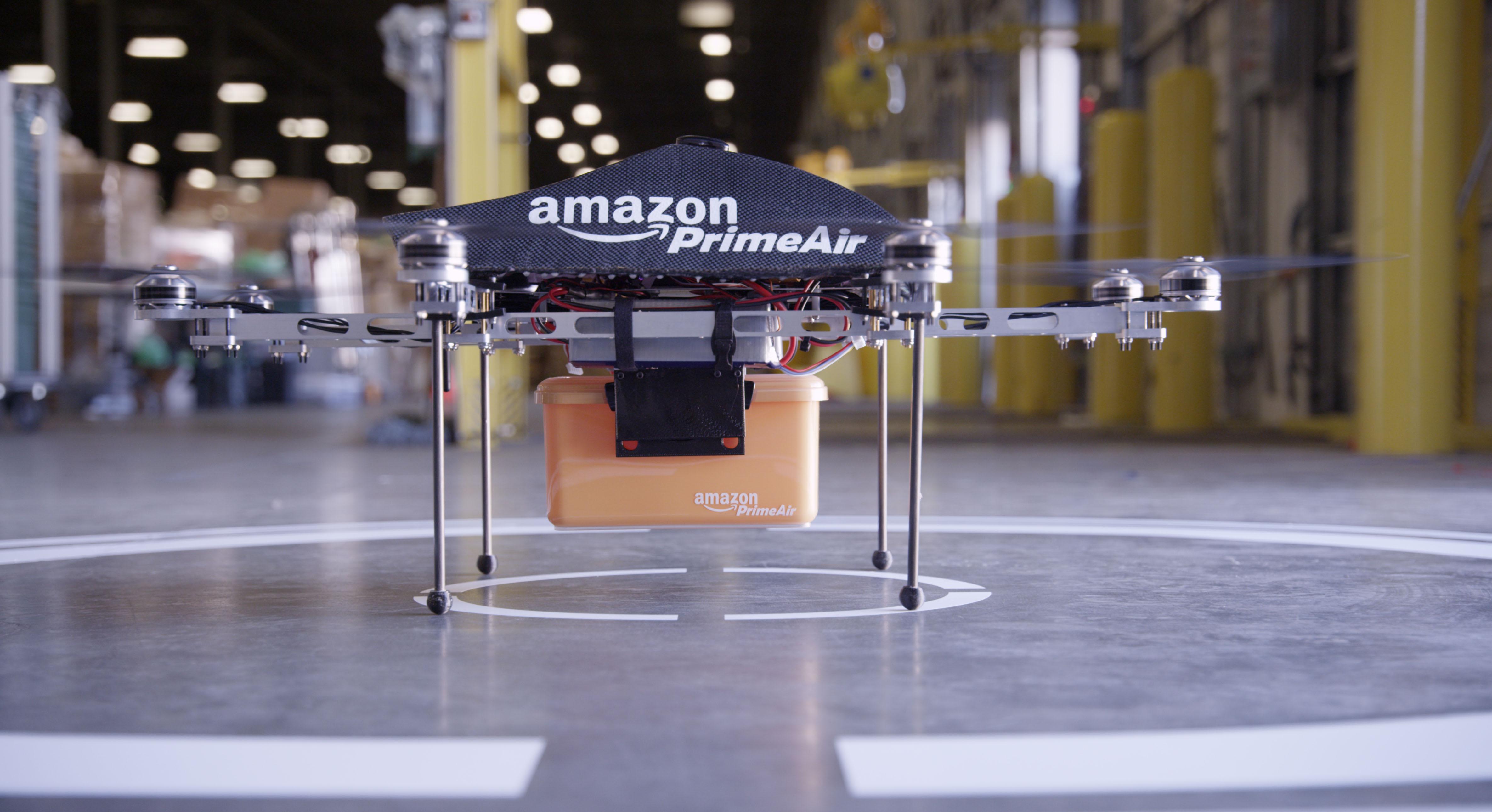 Amazon pronto per le consegne con drone