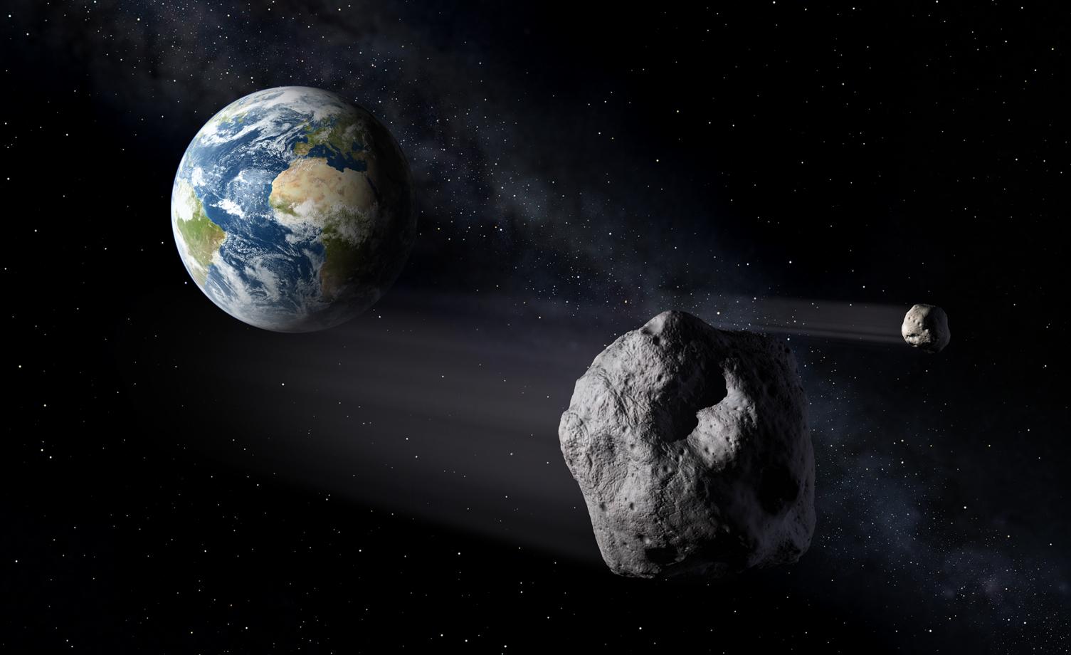 Asteroide in rotta di collisione con la Terra