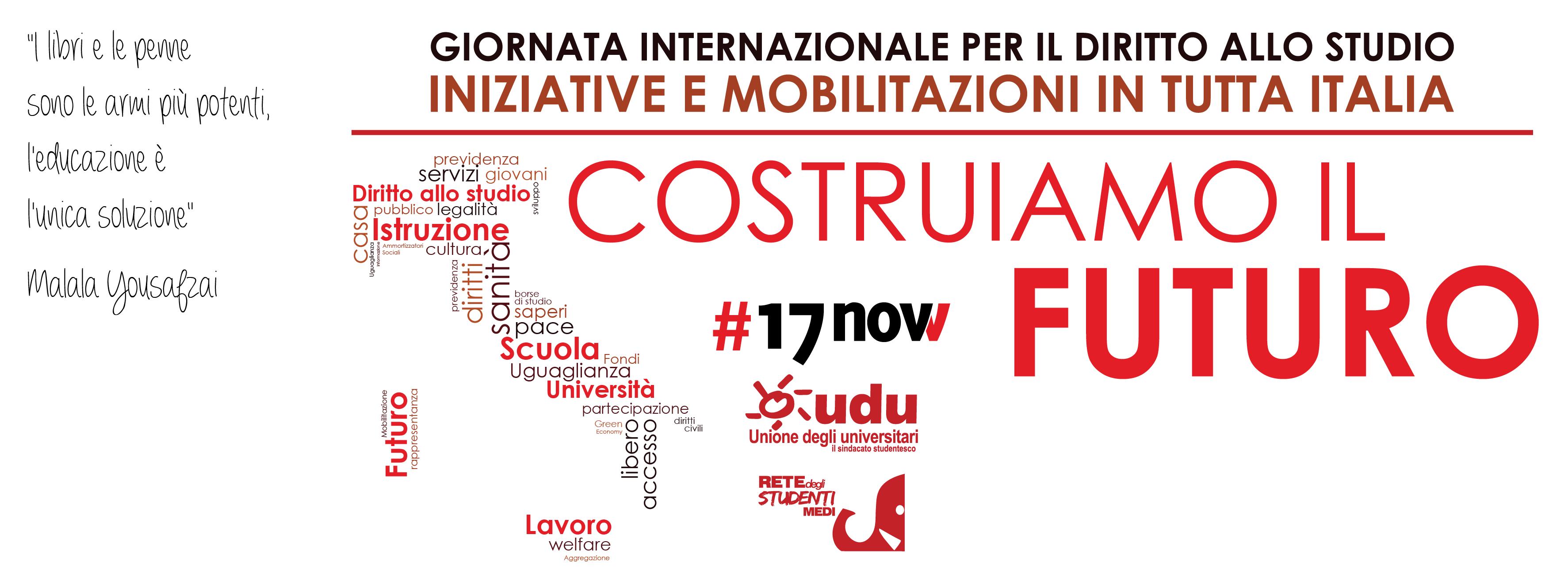 Università, domani è la Giornata mondiale dello studente: pronta mobilitazione