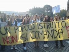 sciopero università