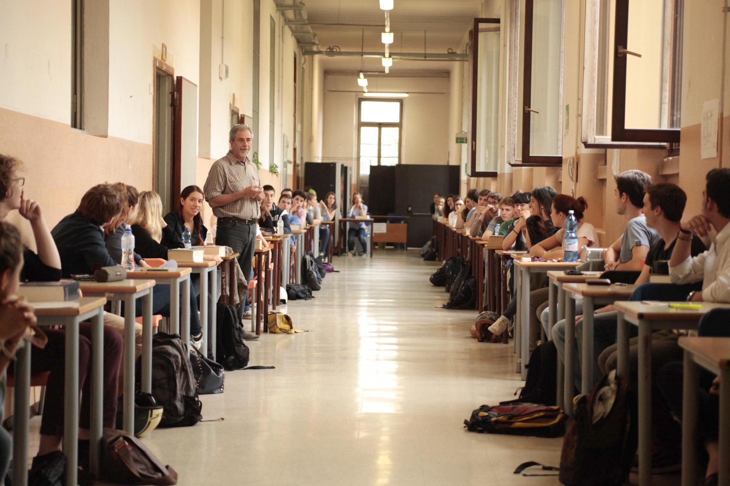 Maturità: Milano, Liceo Classico Tito Livio, Prima prova scritta
