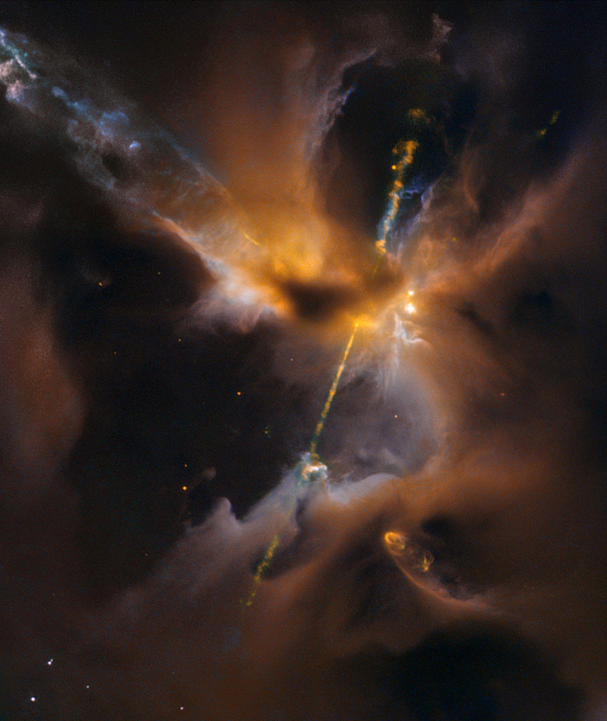 Da Star Wars allo spazio: immortalata la spada laser