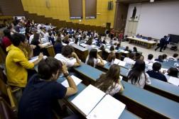 UNIVERSITA:A SAPIENZA PROTESTA CONTRO TEST E NUMERO CHIUSO