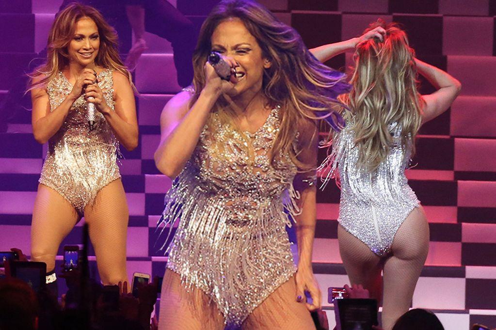 Jennifer Lopez, lato b in bella mostra a Las Vegas