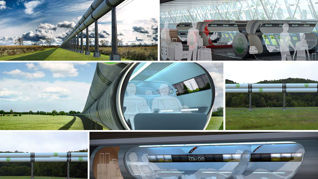 Hyperloop il trasporto del futuro parte dall italia svago for Hyperloop italia