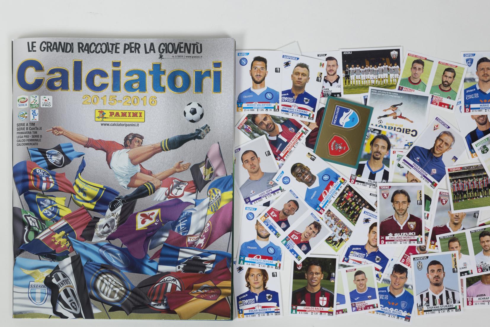 "Panini ""Calciatori 2015-16"""