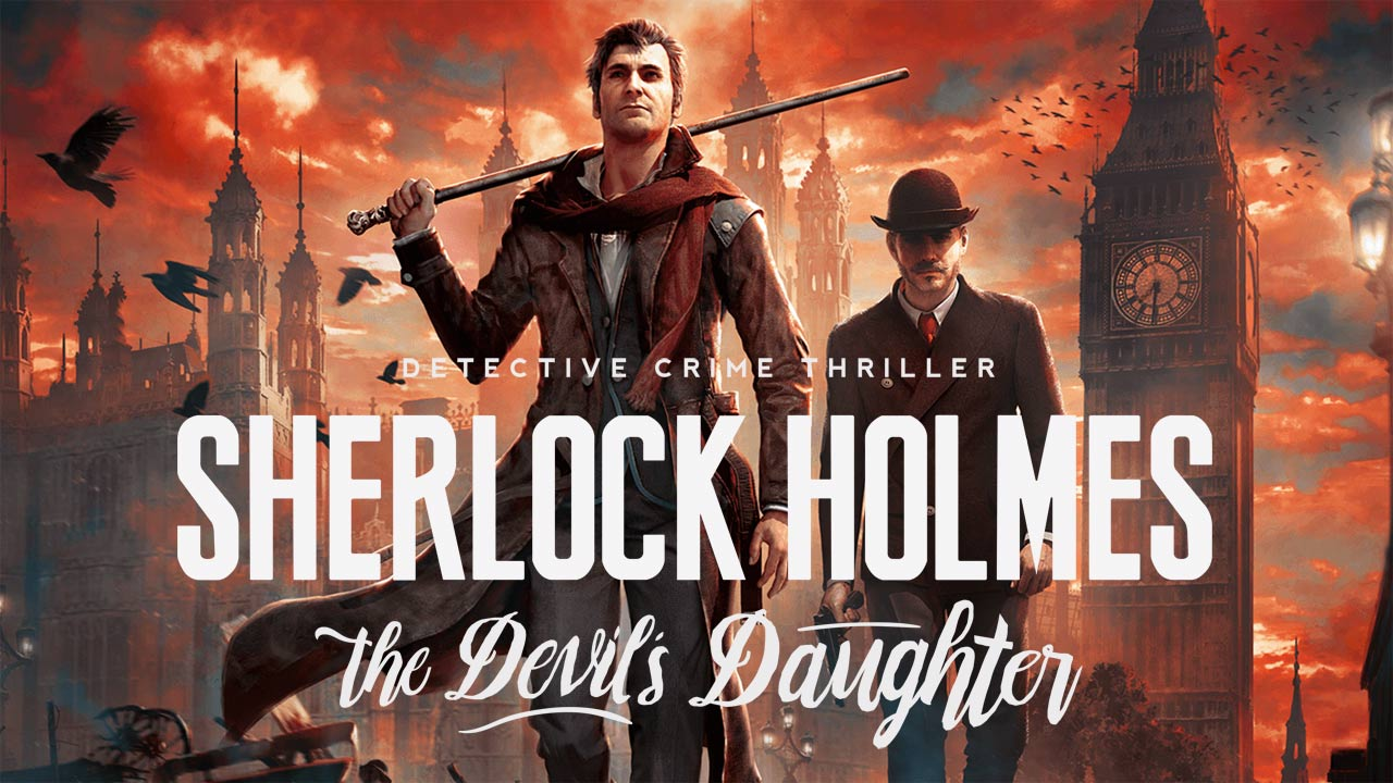Sherlock Holmes, The Devil Daughter, Conan Doyle è su console