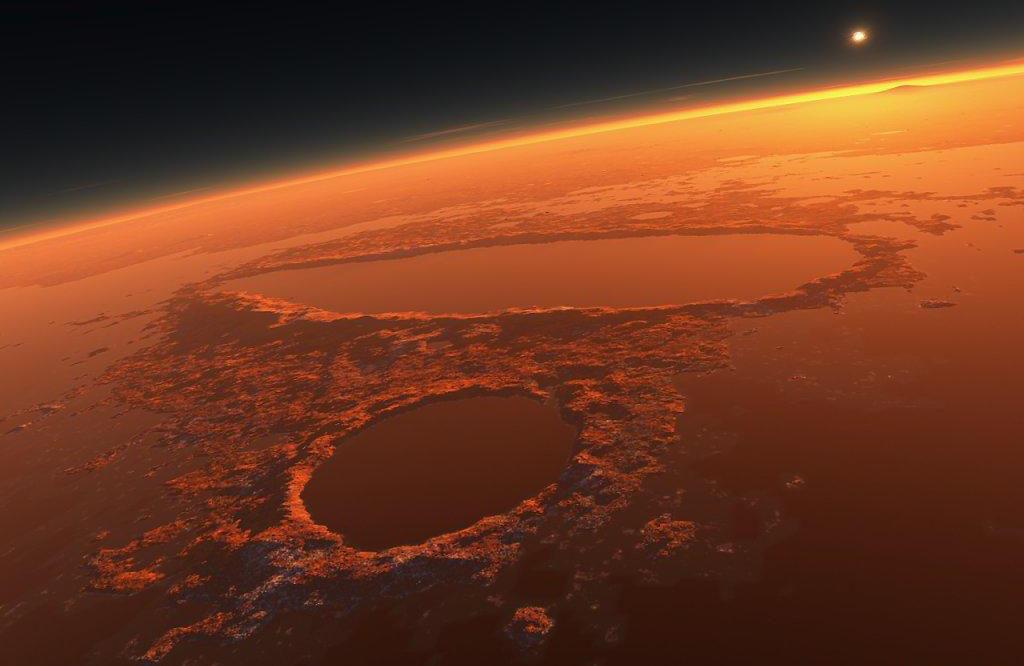 Spazio: mappata la superficie di Marte