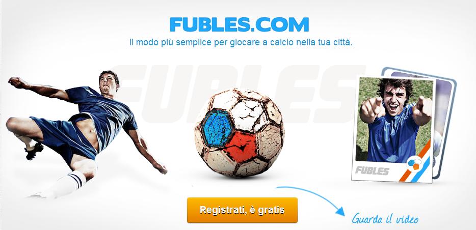 Fubles continua a crescere: il social network italiano per il calcetto ottiene nuovi investimenti