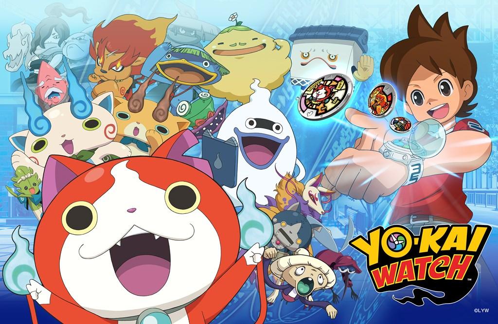 """""""Yo-Kai Watch"""", la serie cult arriva in Italia ad Aprile 2016"""