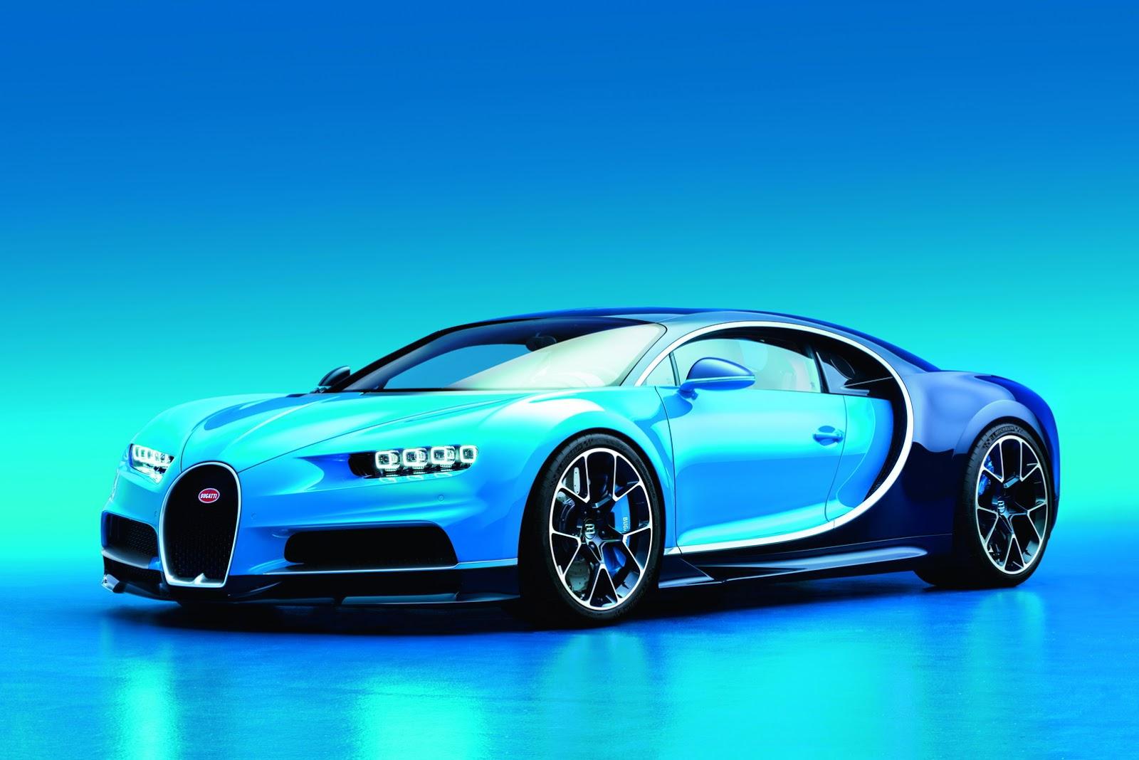 Bugatti si prepara a mangiare record con la nuova Chiron