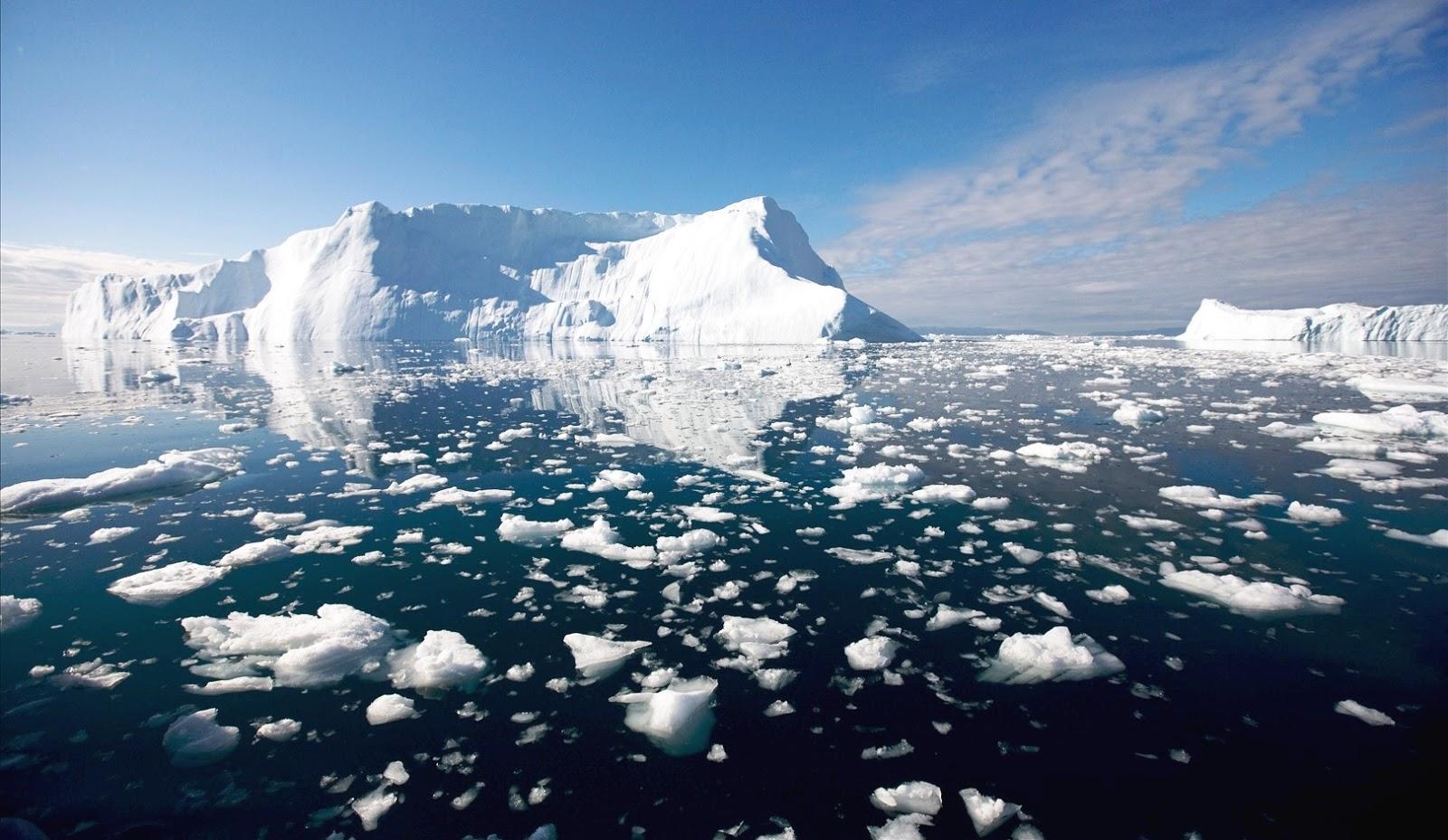Polo Nord, allarme per il ghiaccio artico ai minimi storici.