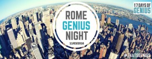 rome genius night
