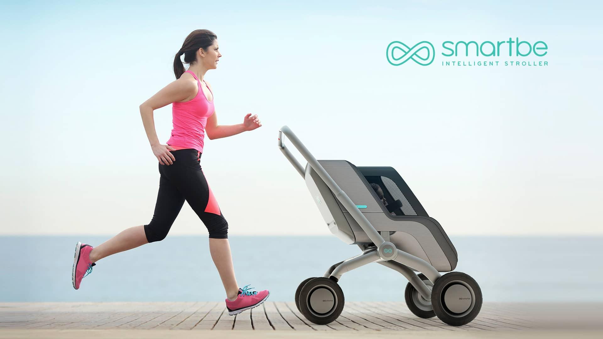 Smartbe, il passeggino intelligente che segue ogni vostro movimento