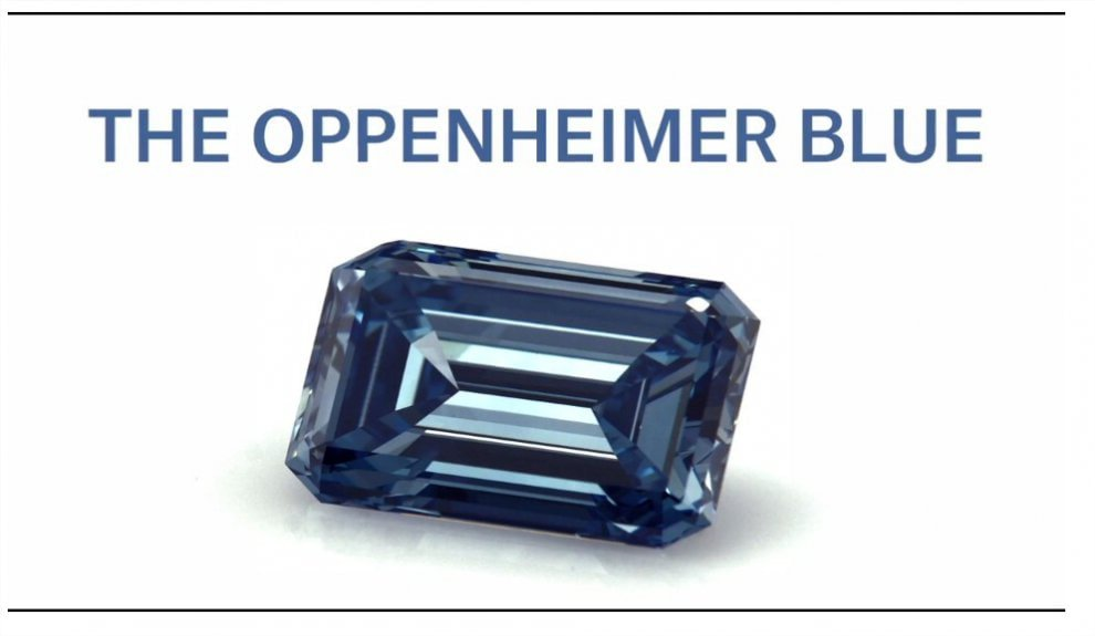 Blue Oppenheimer, il diamante più prezioso al mondo da 31 milioni di dollari