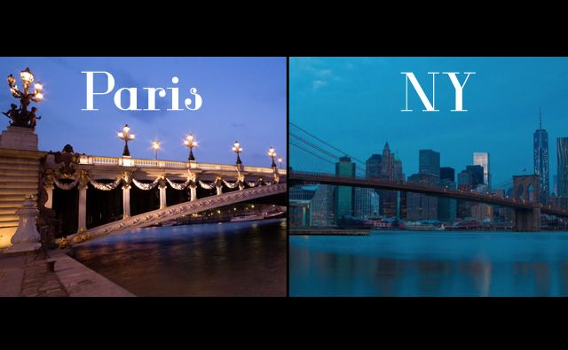 parigi new york