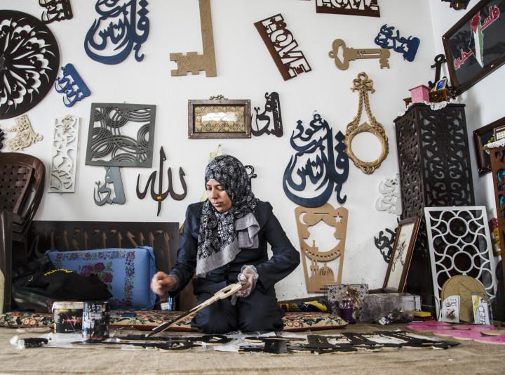 Gaza, Samah Shahen non può ritirare i suoi premi