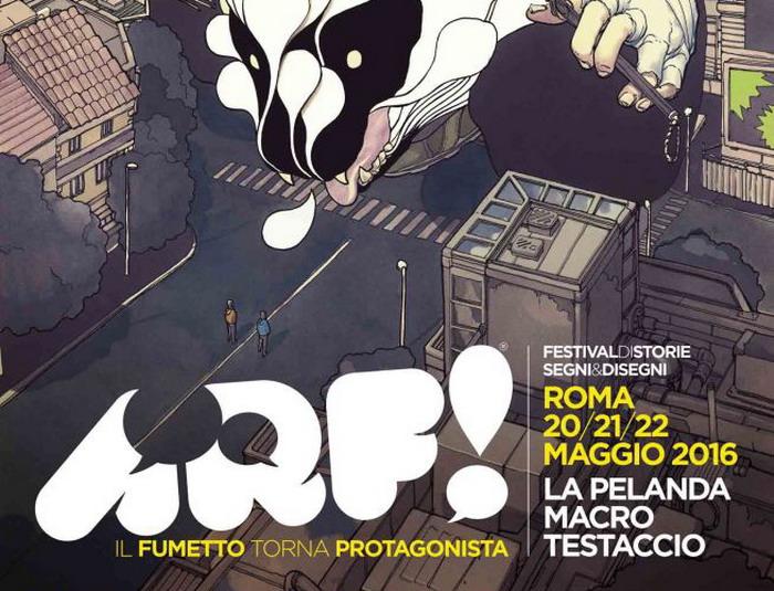 Arf! Festival, i fumetti invadono la Capitale