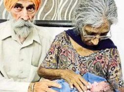 india donna 72 anni