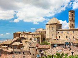 """Roof of a small town in Tuscany """"Volterra"""""""