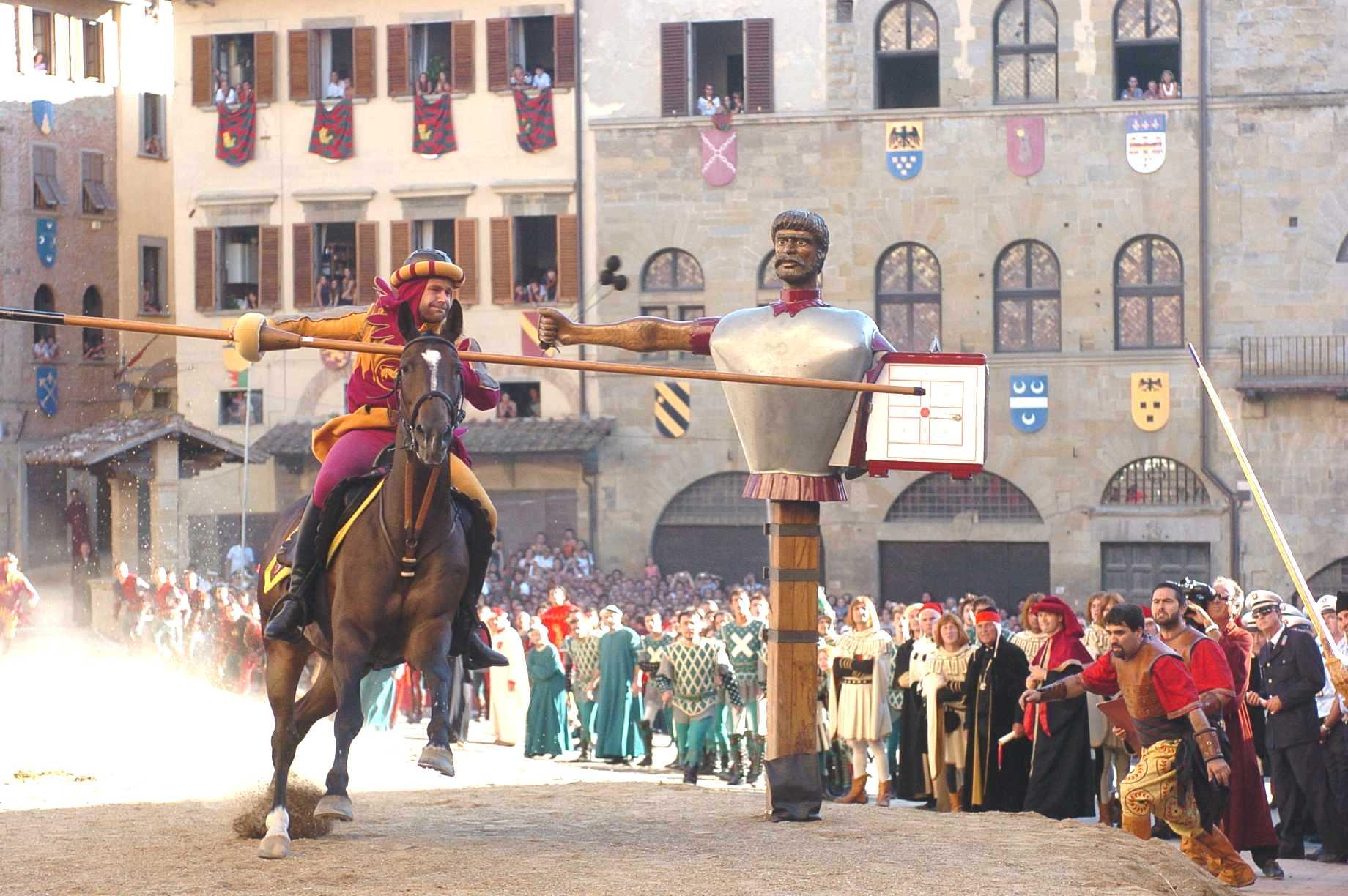 Giostra del Saracino di Arezzo, l'edizione del Giubileo