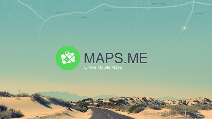 Maps.Me, le mappe a portata di smartphone anche off line