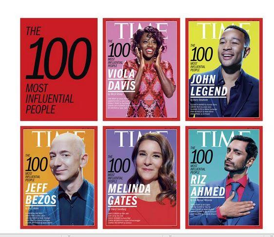Le 100 persone più influenti del 2017…